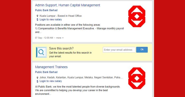 Jawatan Kosong di Public Bank Berhad