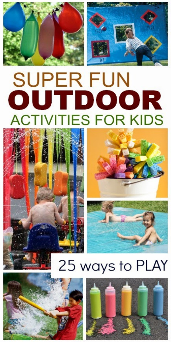 outdoor water activities