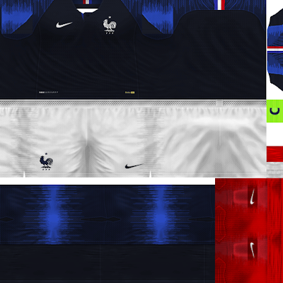 PES 6 Kits France National Team World Cup 2018 by Dibu Edition