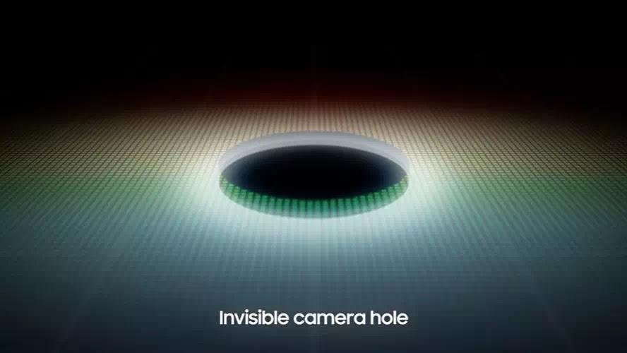 Samsung Under Display Camera
