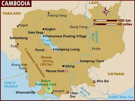 Cambodia Facts In Hindi