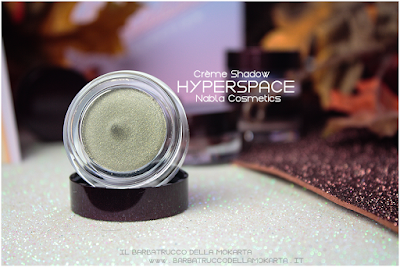 recensione hyperspace POTION PARADISE OMBRETTI CREMA NABLA CREME SHADOW
