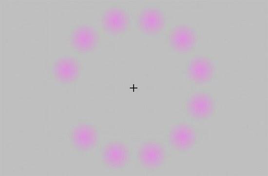 Ilusão de ótica - Pontinhos Fantasmas