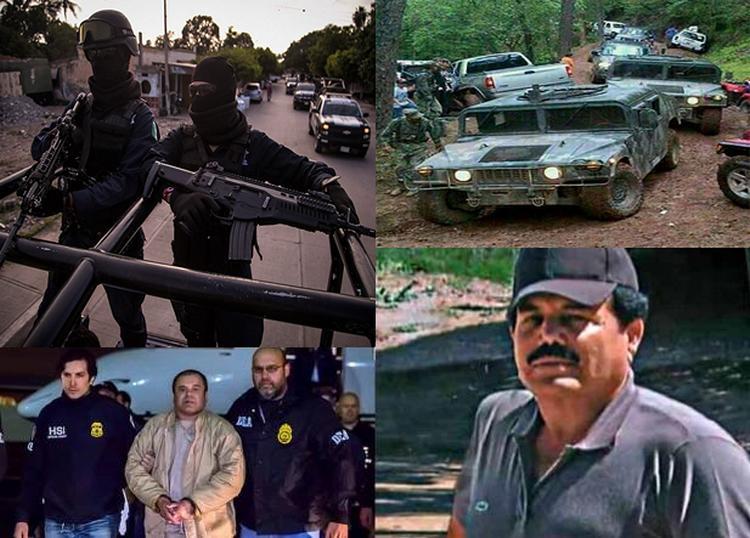 El Chapo y El Mayo utilizaron a militares y policías para enfrentar a los hermanos Beltrán Leyva, Los Zetas y Los Carrillo Fuentes