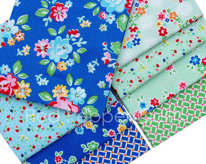 Arbor Blossom by Nadra Ridgeway for Riley Blake Designs | © Red Pepper Quilts 2017
