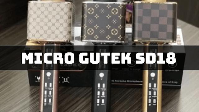 Micro không dây tích hợp bluetooth Gutek SD-18 chất lượng trên từng bài hát