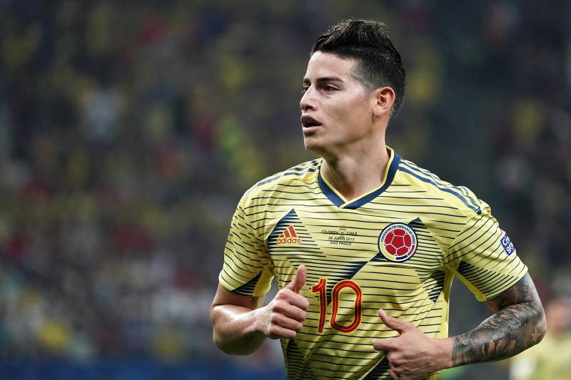 Atletico In Race to Sign James Rodriguez