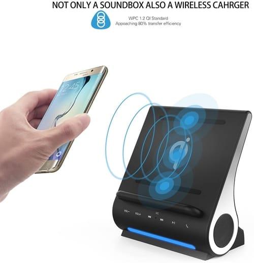 Azpen Dockall D100 - Qi Wireless Charger