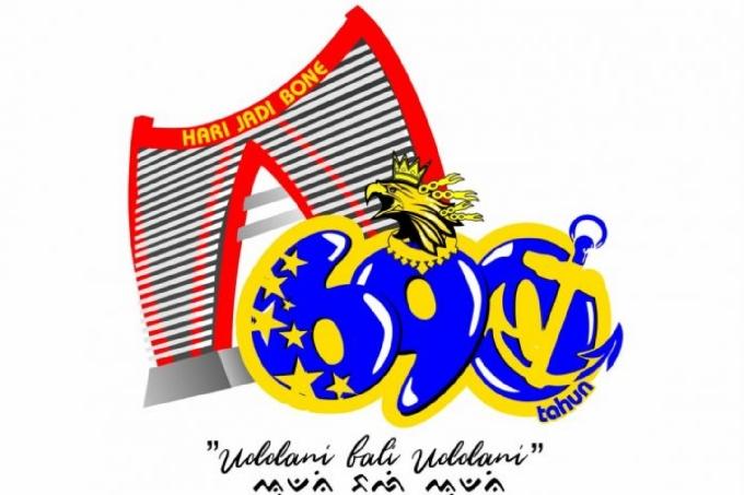 Waduh, Logo Hari Jadi Bone Ke-690 Dibully Warganet
