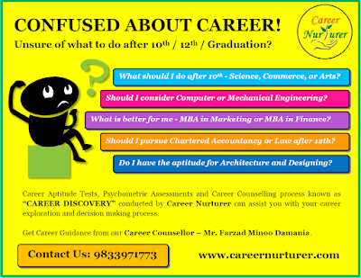 Online Career Counselling Aptitude and Psychometric Assessments Career Guidance after 10th