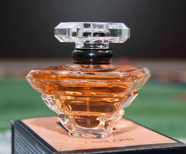 Lancome Tresor oryginalne perfumy, opakowanie