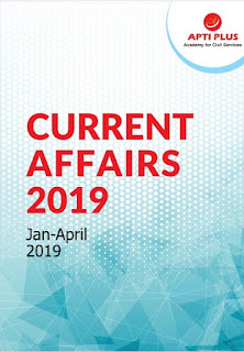 Current Affairs January To April 2019 PDF