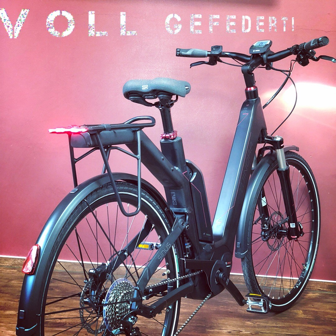 Vollgefedertes Tourenrad ! | eBLOG by E°Bike Company Mainz !