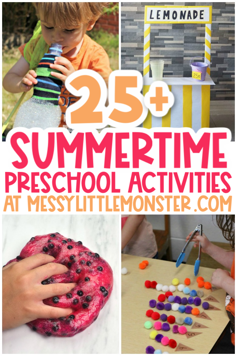 Summer preschool activities