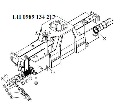 Khung chính của cẩu Dongyang SS1404-SS1406