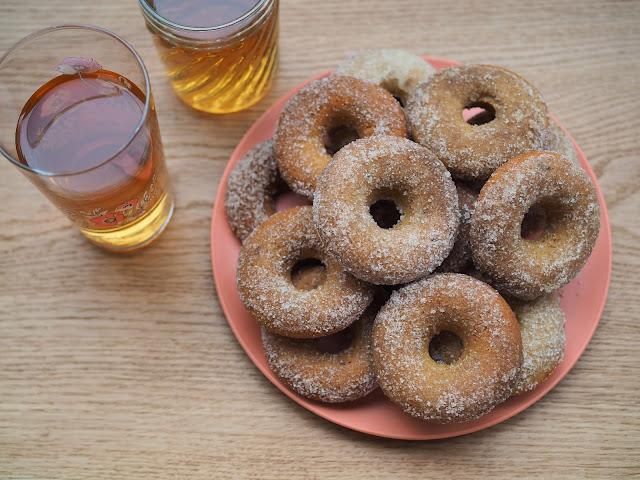 gluteenittomat donitsit uunissa