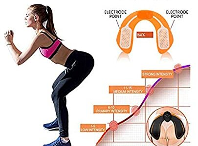 electrodos en glúteos efectos