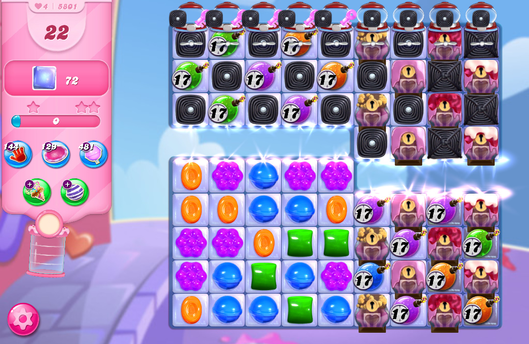 Candy Crush Saga level 5801