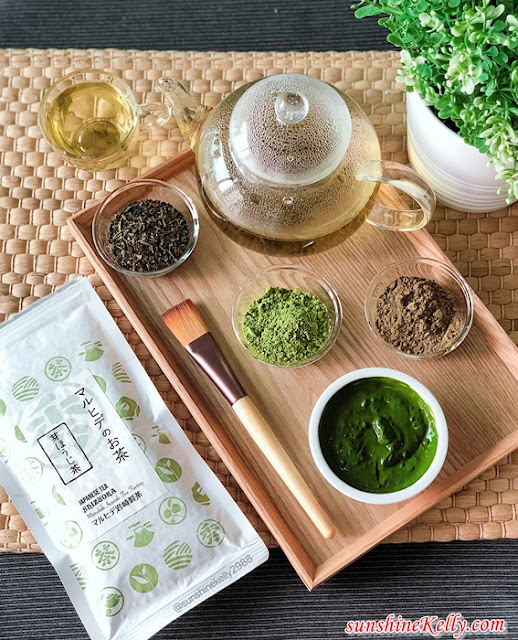 Matcha powder, hojicha powder, hojicha loose leaf, secai marche, DIY Matcha Face Mask, Benefits of Matcha Green Tea For Your Skin, beauty