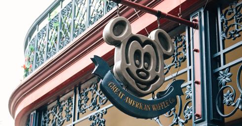 Mickey Waffle Tokyo Disneyland