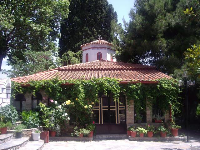 Εσπερινός στην Ιερά Μονή του Αγίου Βλασίου Στυλίδας