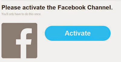 Activate your Facebook account