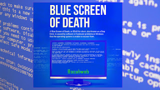 Blue screen of dead