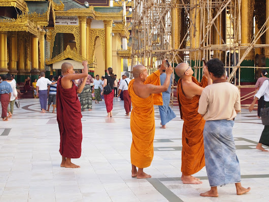 Monks in Asia