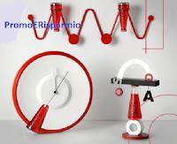 """Concorso Campari """"Design Connection Contest"""" : vinci gratis 150 articoli design (orologi, lampade e appendiabiti)"""