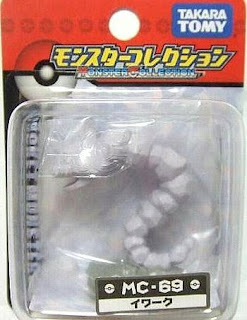 Onix Pokemon figure Tomy Monster Collection MC series