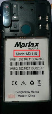 Marlax MX110 Flash File Hang Logo & Dead Recovery Stock Rom