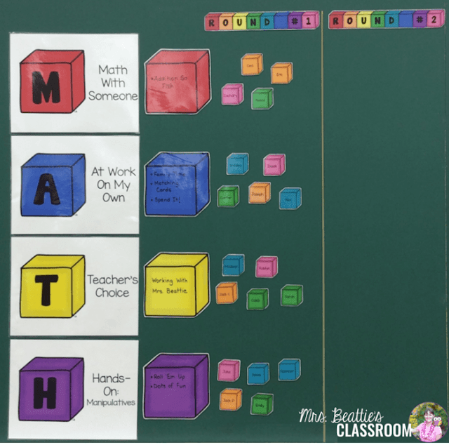 Thinking about trying Guided Math? Organization is a critical component for being ready to use Guided Math in your classroom. This post contains ideas for how to organize your Guided Math centers, how to create and organize student groups and how to ensure those groups manage working independently.