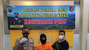 TEKAB Polsek Medan Kota Ringkus Pengguna Narkotika