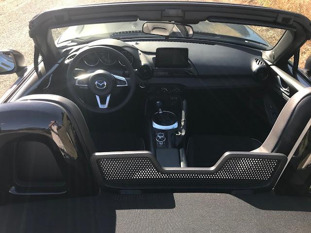 Interior view of 2020 Mazda MX-5 Miata Club