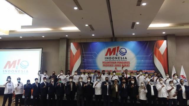 Resmi Dilantik, DPW dan Lima Kabupaten Pengurus DPD Media Independen Online Indonesia