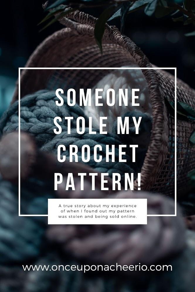 Someone stole my crochet pattern!