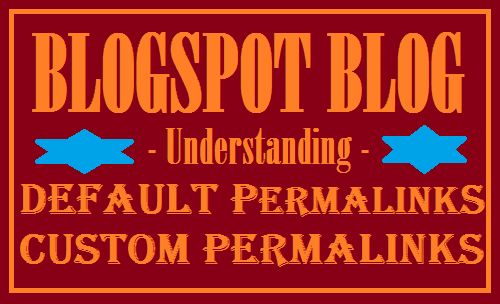 Blogger permalinks