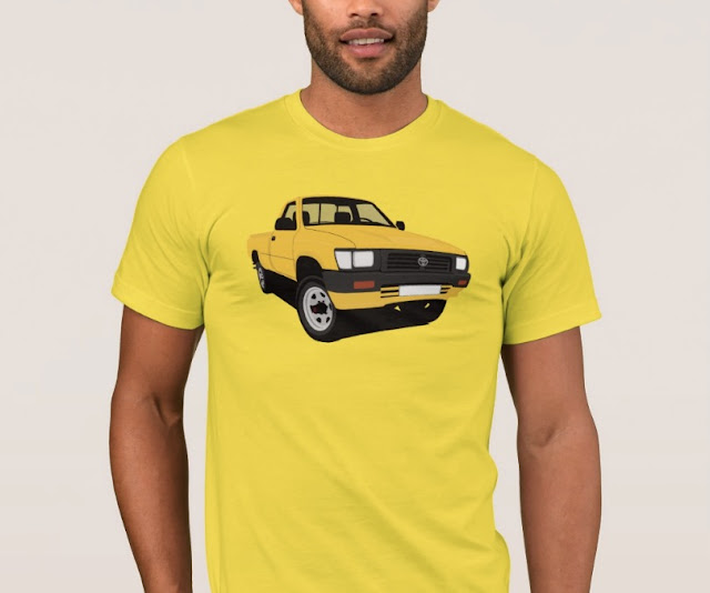 Toyota Hilux pickup cool t-shirt