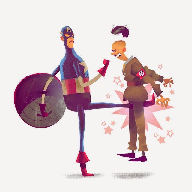 ilustraciones por Mike Bear