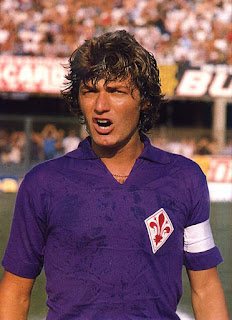 Giancarlo Antognoni made more than 400 appearances for Fiorentina