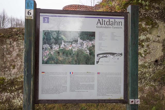 Felsenland Dahn  Wanderung Burgruine Altdahn – Jungfernsprung 07