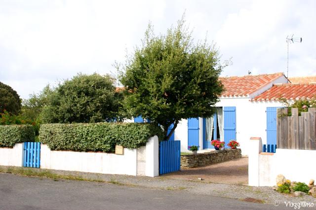 Le case tipiche bianche dell'Ile de Noirmoutier