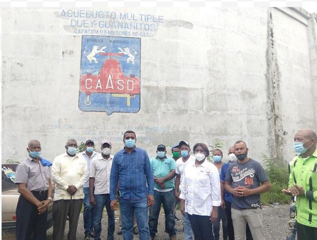 Alcalde de Pedro Brand pide a la CAASD poner en servicio acueducto abandonado