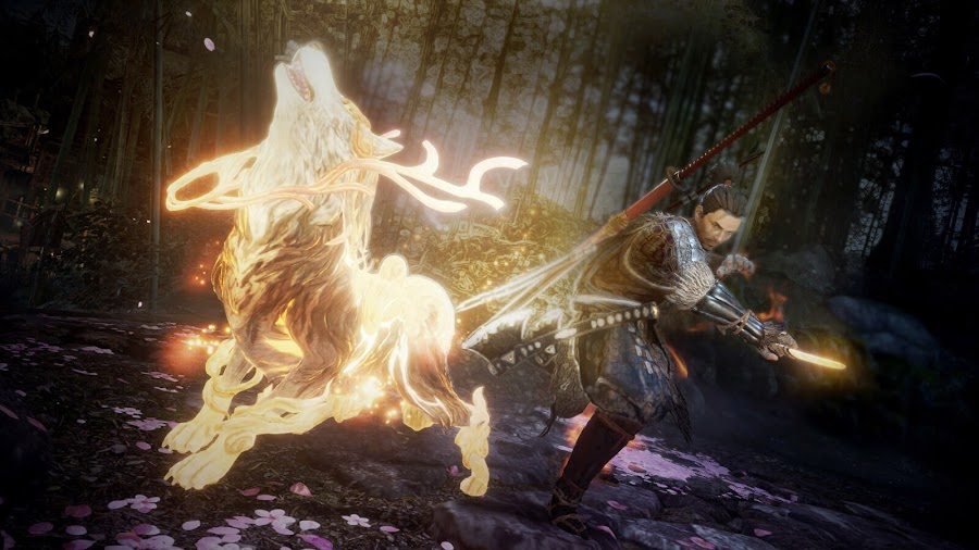 nioh 2 gameplay trailer tokyo game show 2019 guardian spirit magami release date early 2020 playstation 4 koei tecmo games team ninja sony interactive entertainment
