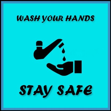 wash your hands stay safe