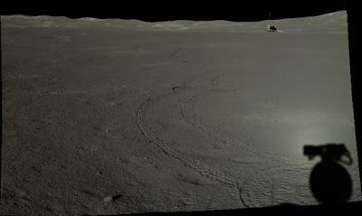 El lado oculto de la luna visto por Yutu-2