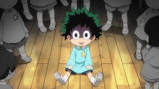 ヒロアカアニメ   緑谷出久 幼少期   デク   MIDORIYA IZUKU   僕のヒーローアカデミア My Hero Academia   Hello Anime !