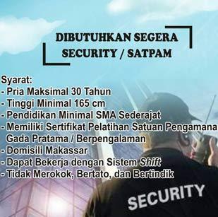 Lowongan Kerja Security atau Satpam di Honda Sanggar Laut Selatan Group
