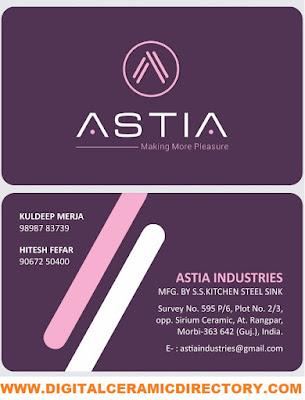 ASTIA INDUSTRIES - 9898783739