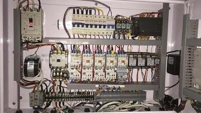 Control Cabinet PLC S7-200